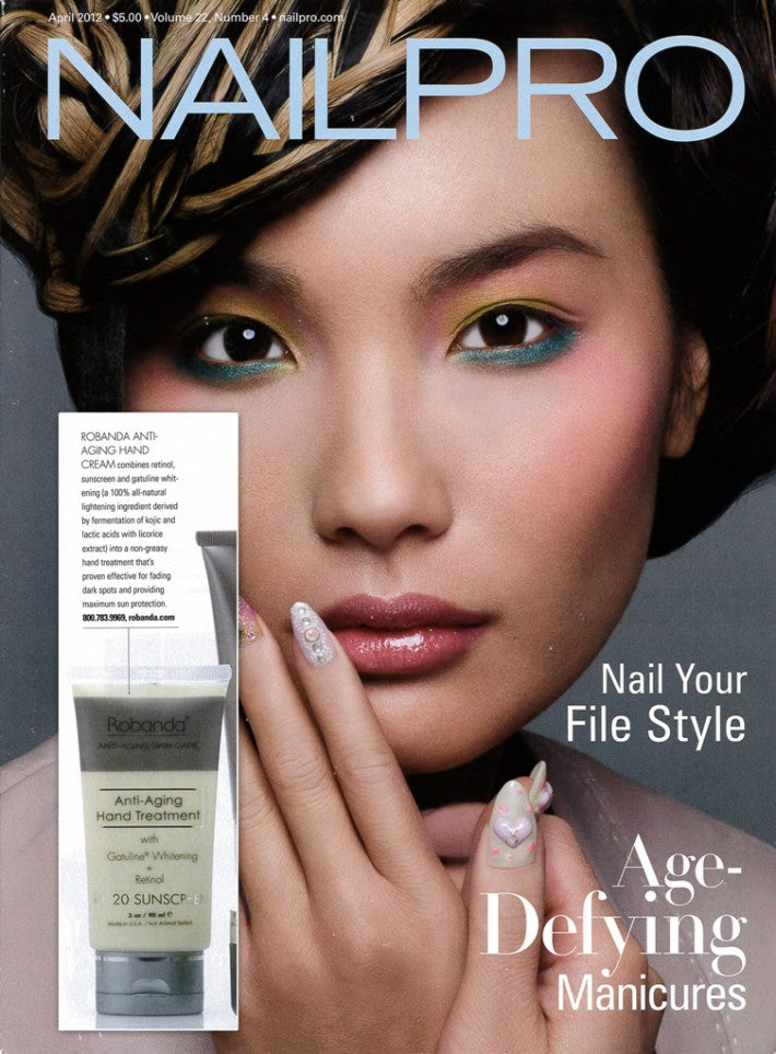 Robanda feat. in NailPro April 2012