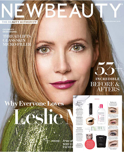 Robanda feat. in New Beauty Magazine Mar 2019