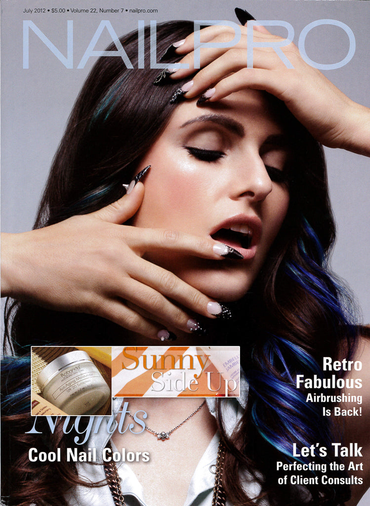 Robanda feat. in NailPro July 2012