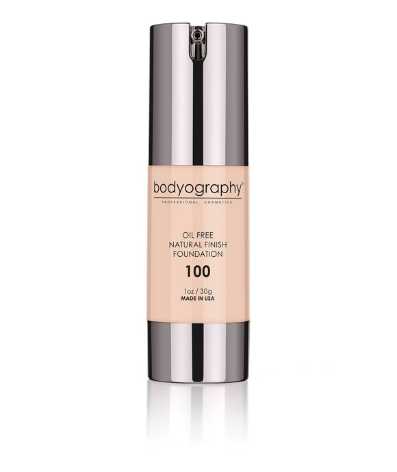 Bodyography Professional Cosmetics - Natural Finish Foundation #100