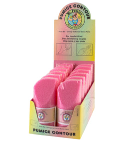 Mr. Pumice - Pink Pumi Contour Display