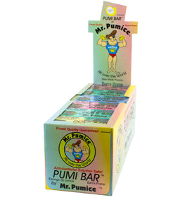 Mr. Pumice - Pumi Bar Display (Assorted)
