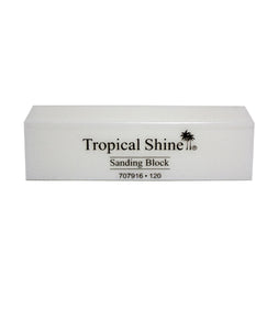 Tropical Shine - White Sanding Block