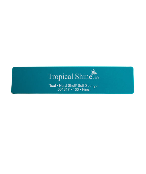 Tropical Shine - Teal Hard Shell/Soft Sponge