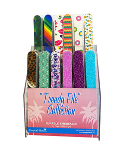 Tropical Shine - Trendy File Collection TC144 Display