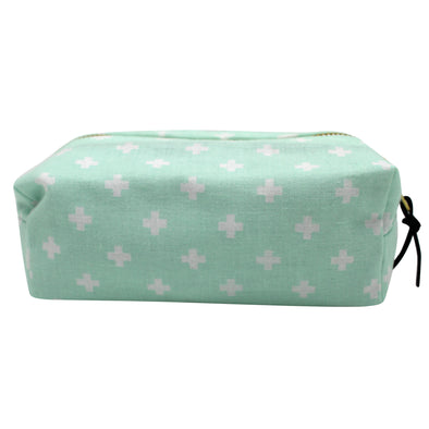 "ZANDRA ""ENCOURAGE MINT"" MAKEUP POUCH"
