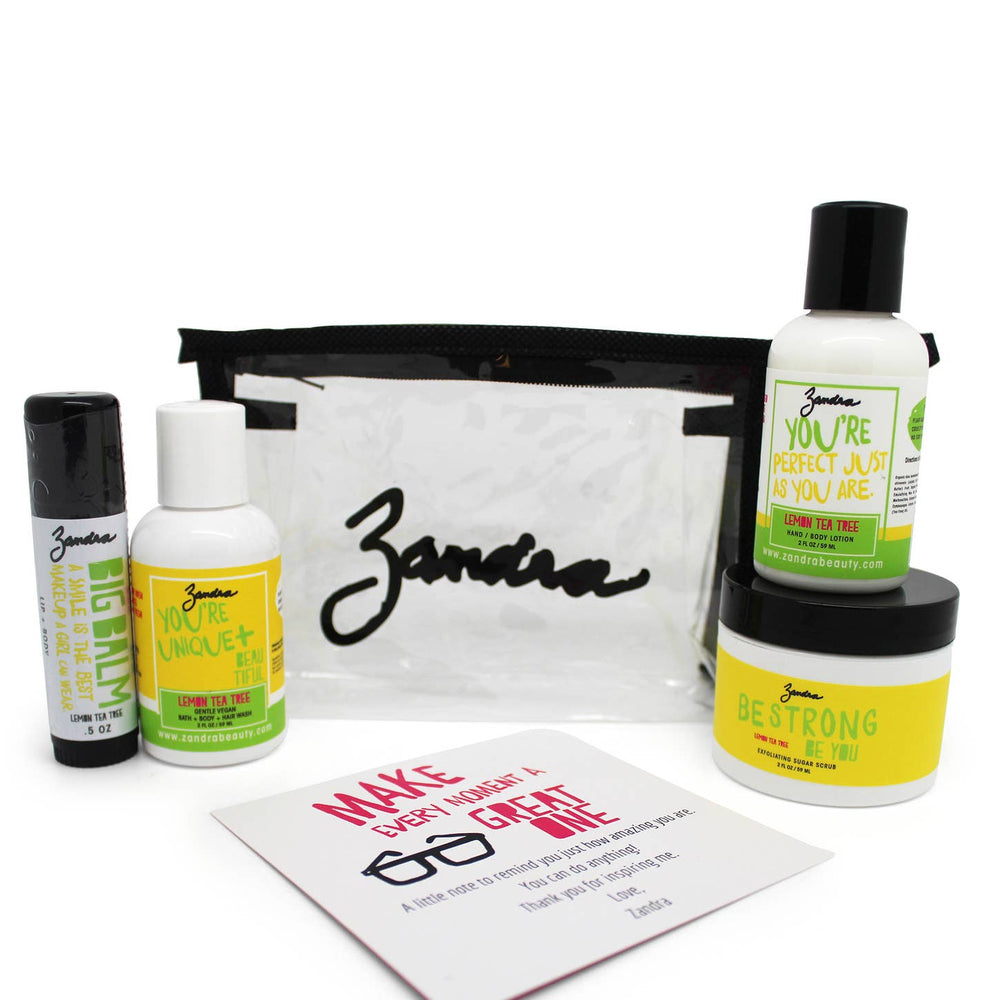 Lemon Tea Tree GO GIRL TRAVEL KIT - Zandra