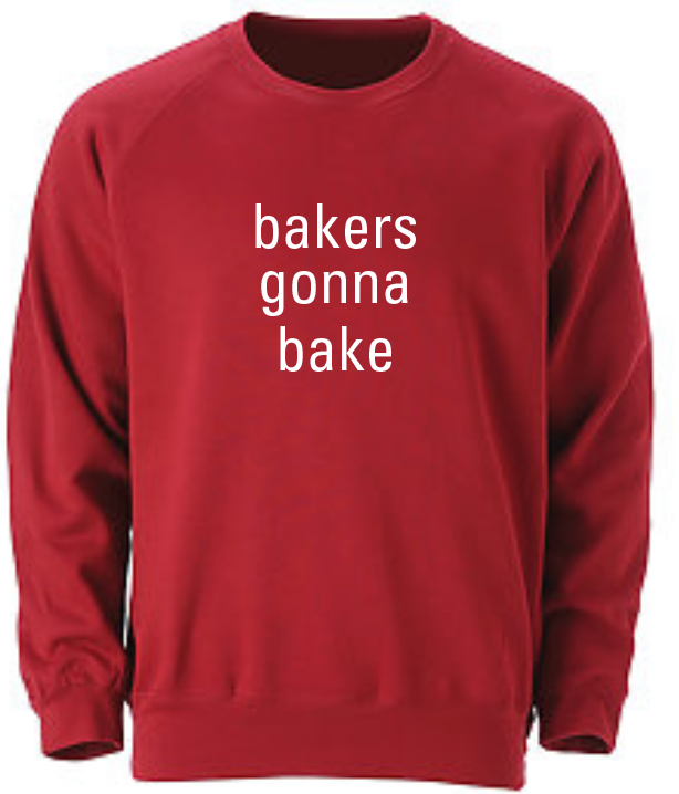 bakers sweatshirt