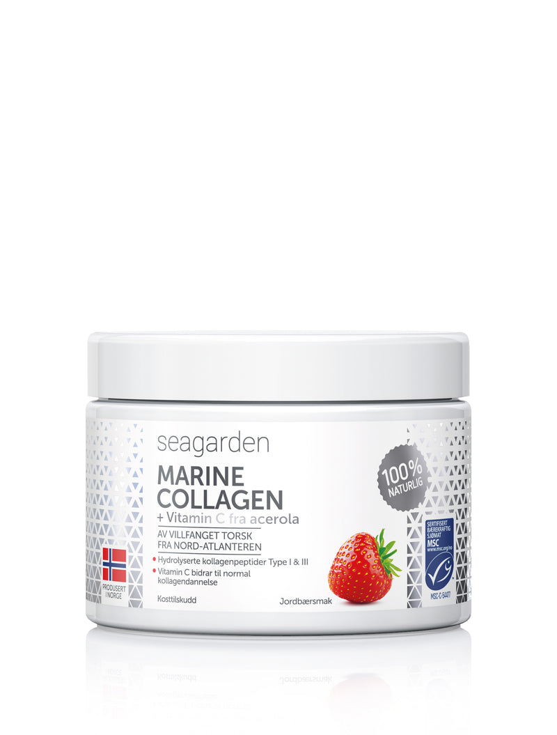 Copy of Marine Collagen + Vitamin C (Jordbærsmak) 2 pcs abonnement