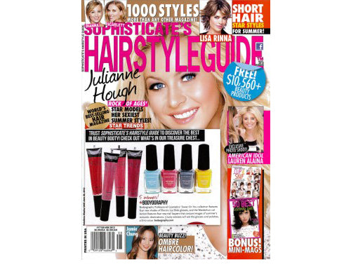 Sophisticates Hair Style Guide – August 2012