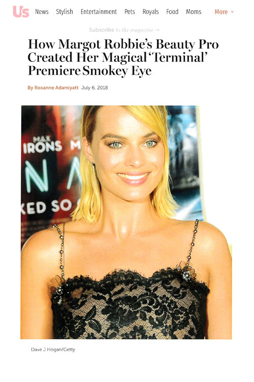 How Margot Robbie's Beauty Pro Created Her Magical 'Terminal' Premiere Smokey Eye