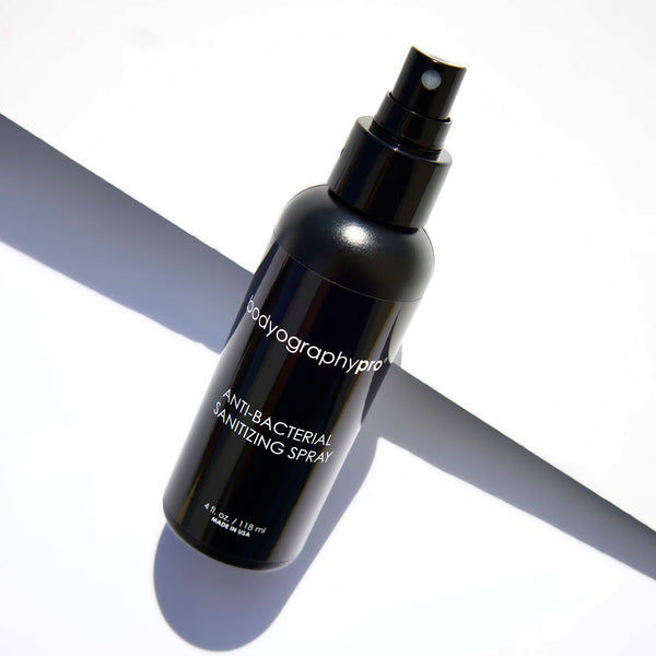 Anti-bacterial Sanitizing Spray - Bodyography® Professional Cosmetics