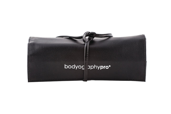 Bodyography Pro - 16 Piece Brush Roll Tied