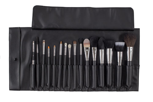 Bodyography Pro - 16 Piece Brush Roll