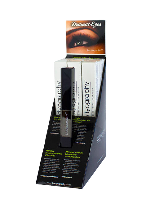 Dramat-Eyes Volumizing Mascara & Primer Display - Bodyography® Professional Cosmetics
