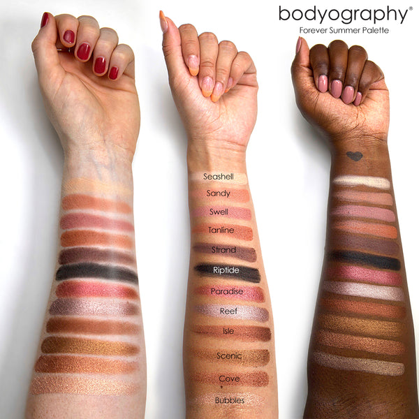 Forever Summer Palette - Bodyography® Professional Cosmetics