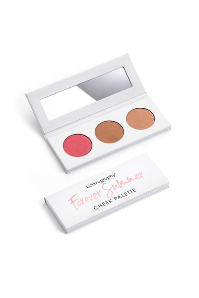 Forever Summer Cheek Palettes - Bodyography® Professional Cosmetics