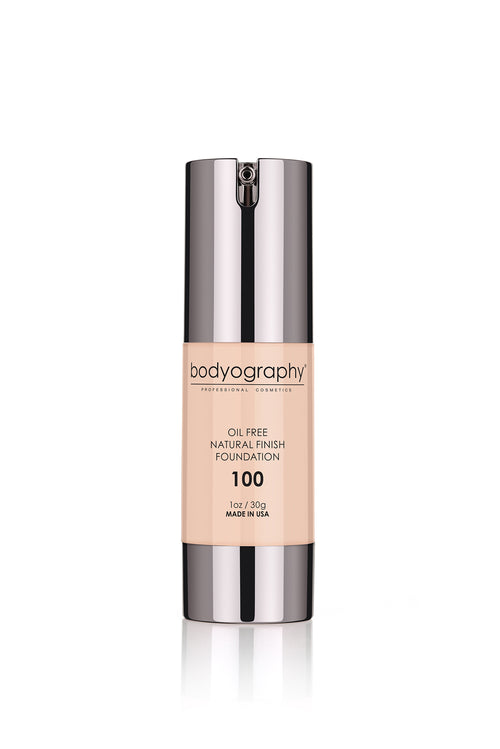 Bodyography Natural Finish Foundation - #100 Light/Neutral