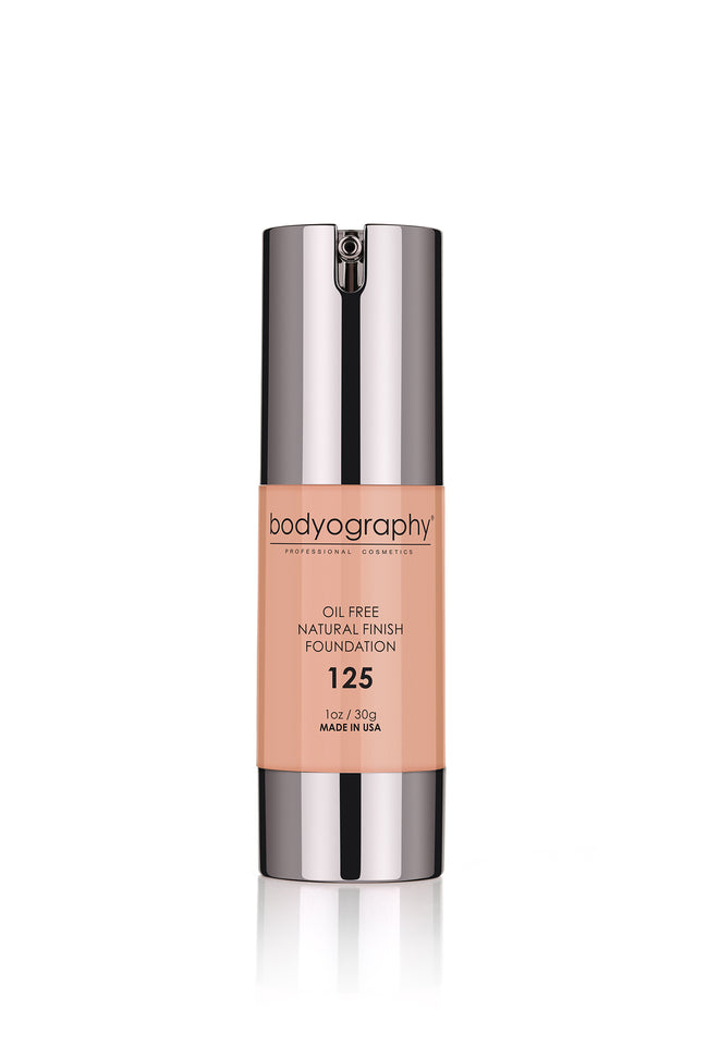 Bodyography Natural Finish Foundation - #125 Light/Cool