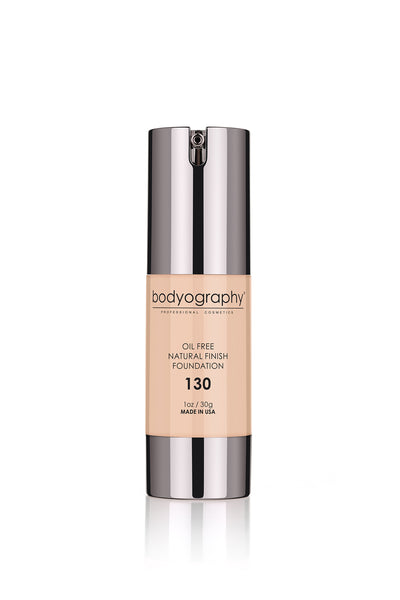 Bodyography Natural Finish Foundation - #130 Light/Med/Neutral