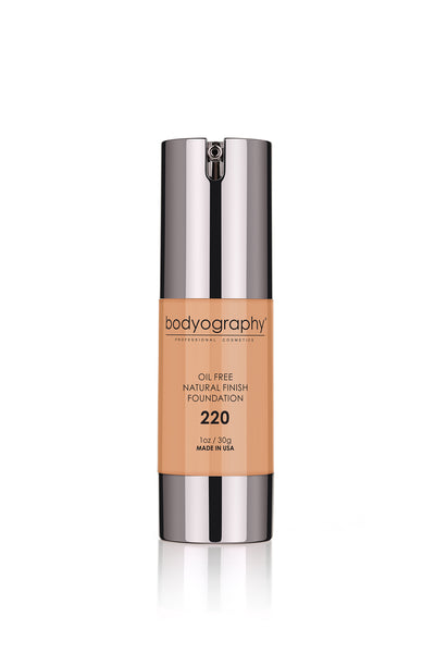 Bodyography Natural Finish Foundation - #220 Med/Dark/Cool