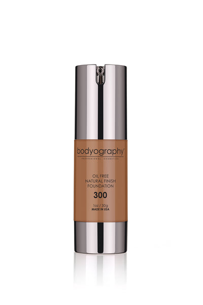 Bodyography Natural Finish Foundation - #300 Very Dark/Warm