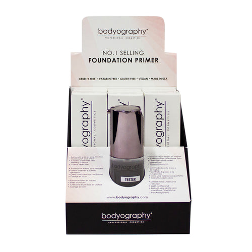 6 Piece Foundation Primer Display - Bodyography® Professional Cosmetics