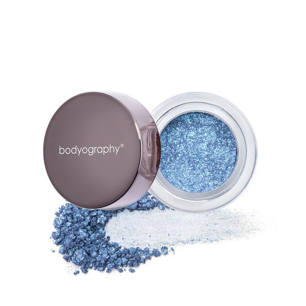 Ambient Lux Glitter Pigment in Blue Morpho - Bodyography® Professional Cosmetics