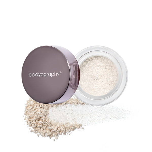 Ambient Lux Glitter Pigment in Spirit Quartz - Bodyography® Professional Cosmetics