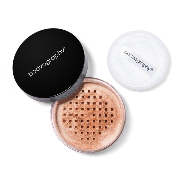 Loose Shimmer Powder - Bodyography® Professional Cosmetics