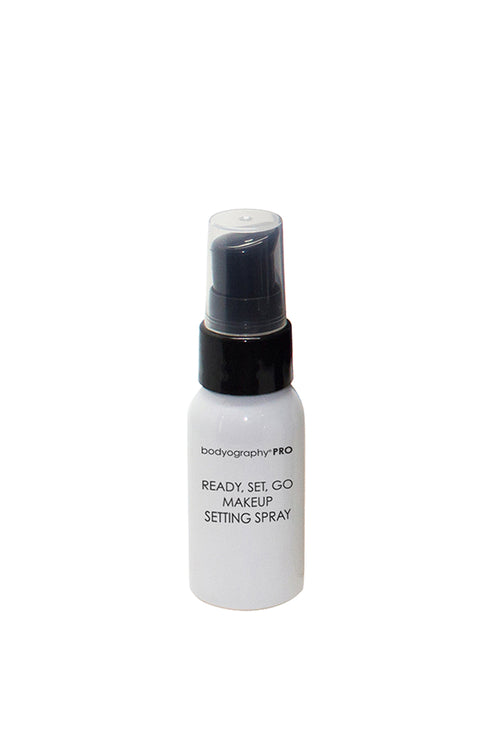 Travel Size Ready, Set, Go Makeup Setting Spray - Bodyography® Professional Cosmetics