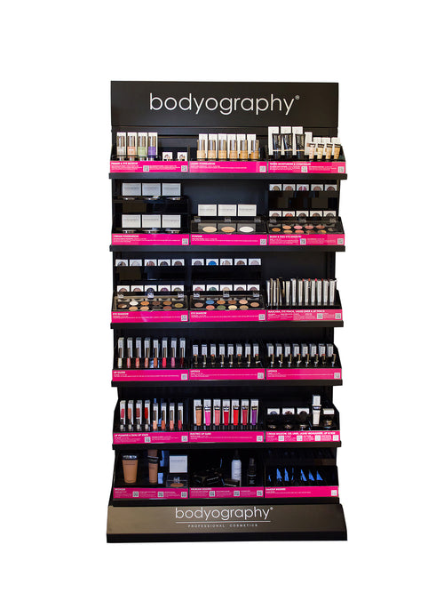 Self Service Display - Bodyography® Professional Cosmetics