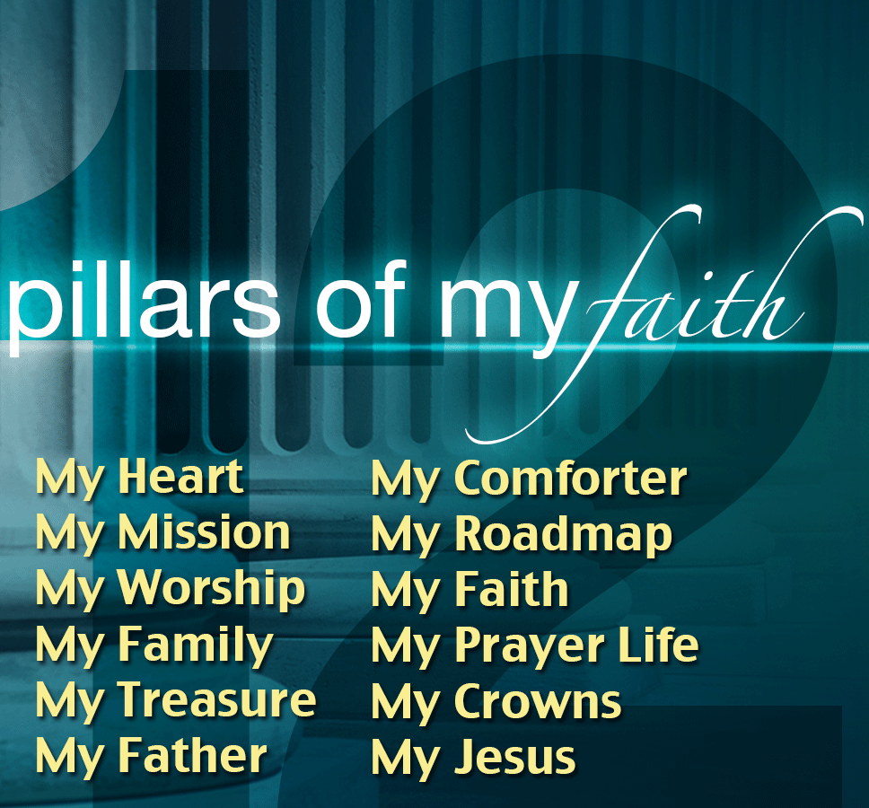 12 Pillars of my Faith USB Flash Drive