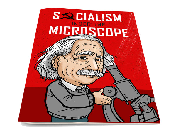 Socialism Under The Microscope Comic Book
