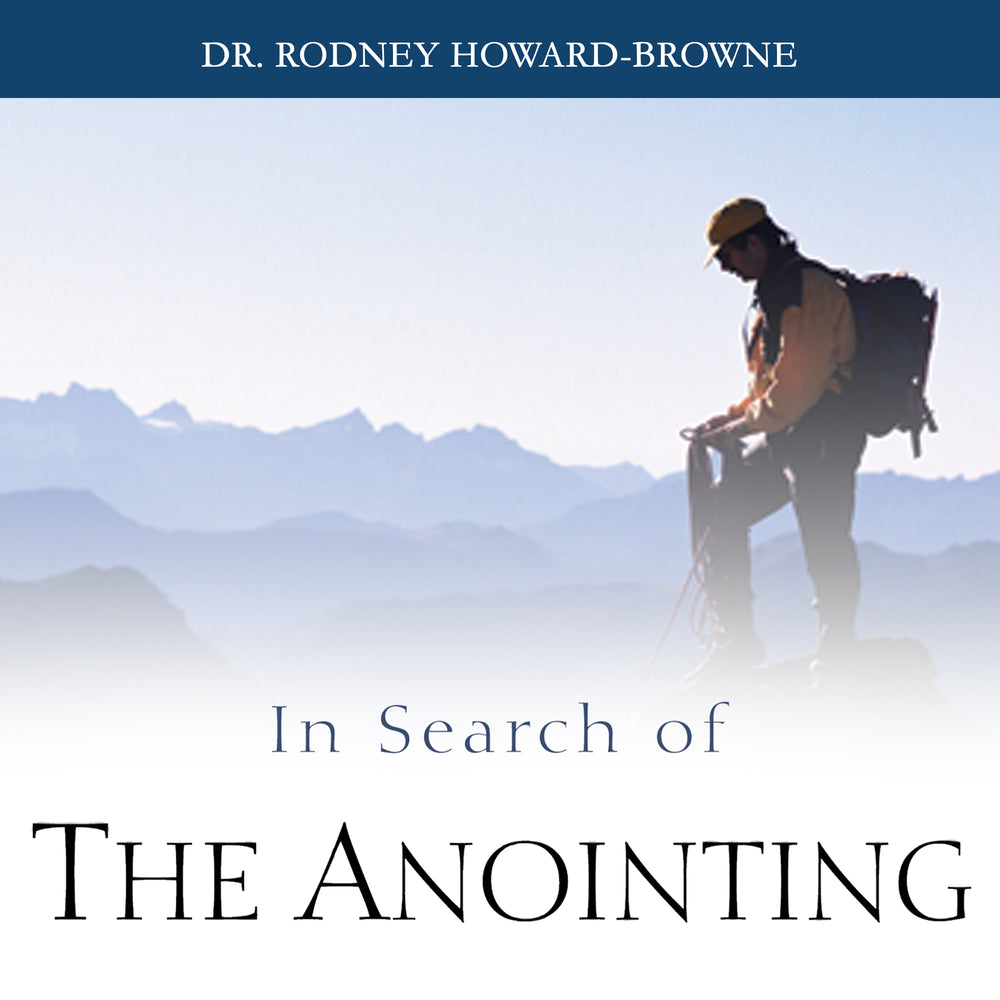 In Search of the Anointing Audio Series MP3 Download