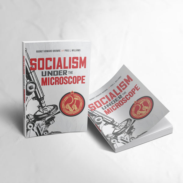 Socialism Under The Microscope Paperback Book and E-Book