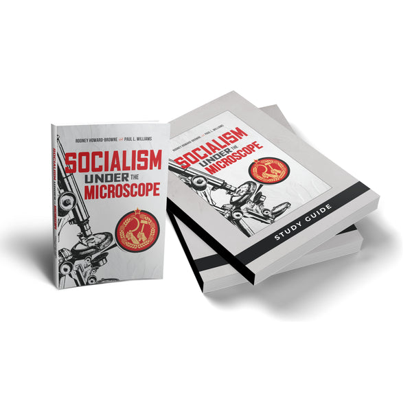 Socialism Under the Microscope Combo: Book, Study Guide, and Answer Key