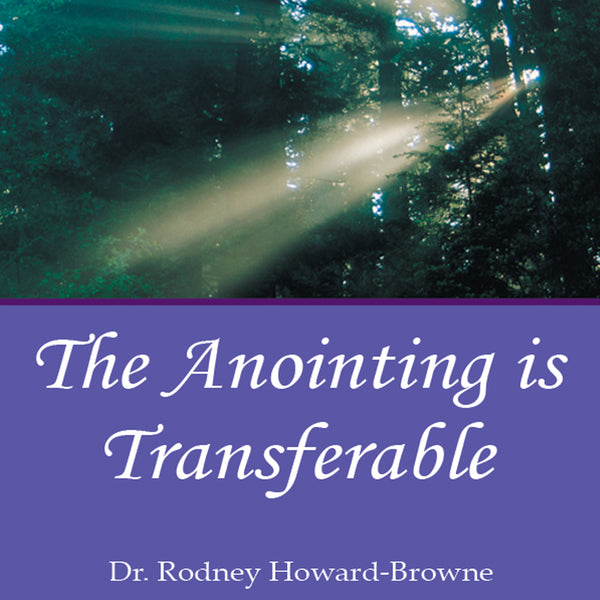 The Anointing is Transferable Audio Series MP3 Download