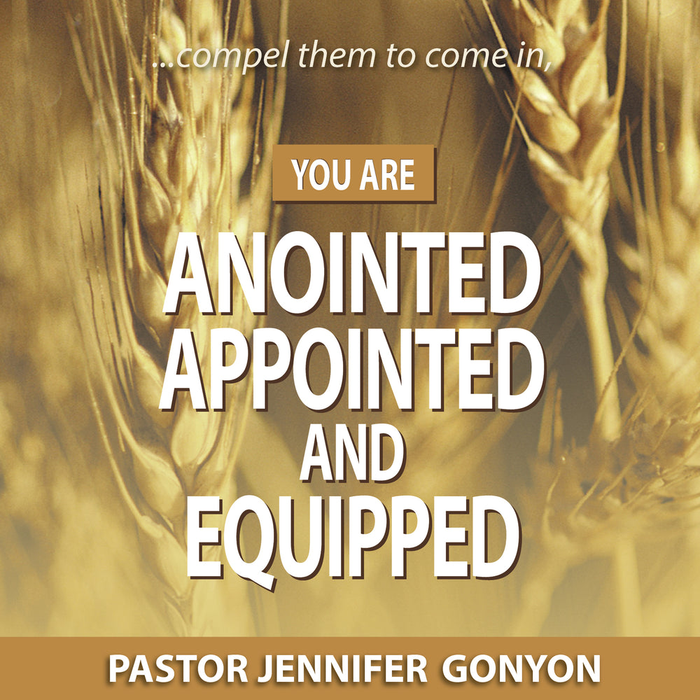 You Are Anointed, Appointed, and Equipped Audio Series MP3 Download