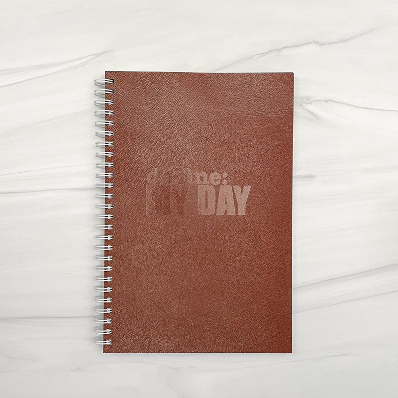 Define My Day™ Planner & Journal Leather Pattern Cover