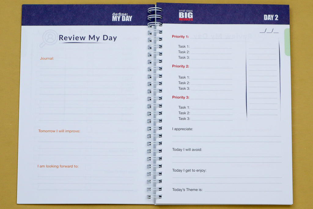 Define My Day™ Planner & Journal