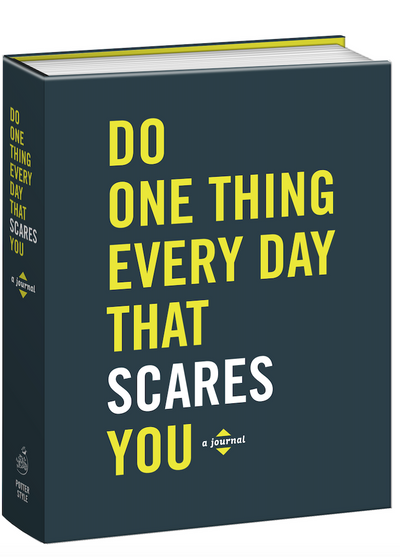 Do One Thing Every Day That Scares You-A Journal