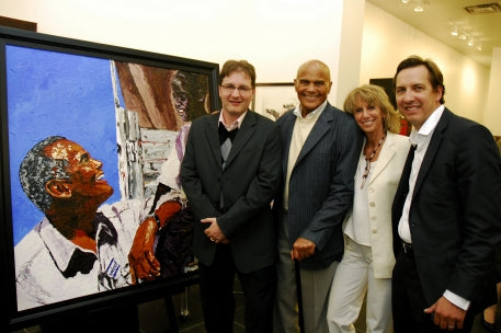Raising Funds for UNICEF with Harry Belafonte