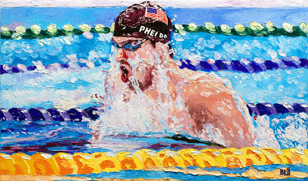 Michael Phelps - Record Breaker