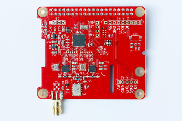 dAISy HAT AIS Receiver for Raspberry Pi - Top view