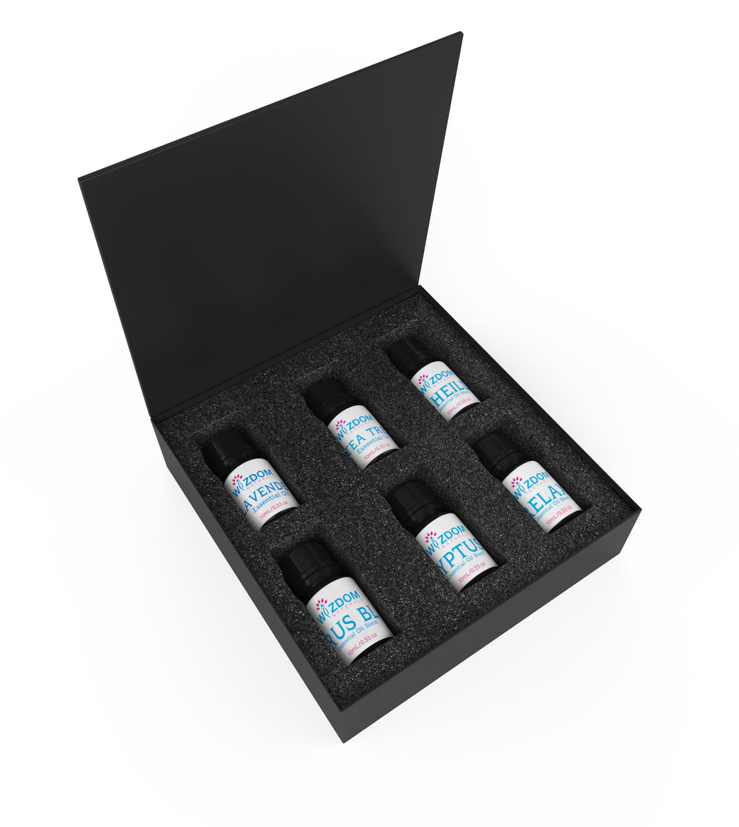 Sleek and Sturdy Storage box for 10ml Essential oil Bottles (Empty) image for illustration only