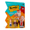 Pee-wee's Playhouse ReAction Figure - Randy & Billy Baloney