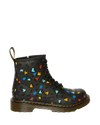 1460 LEATHER HEART PRINT LACE UP BOOTS KIDS