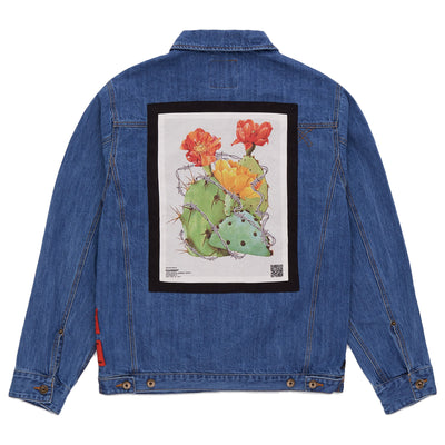 KEEP BACK DENIM JACKET