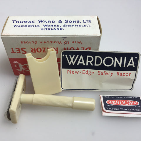 1940's wardonia safety razor